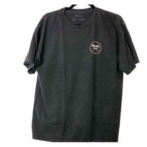 Brixton Mfg Co Black T-Shirt, Size Large